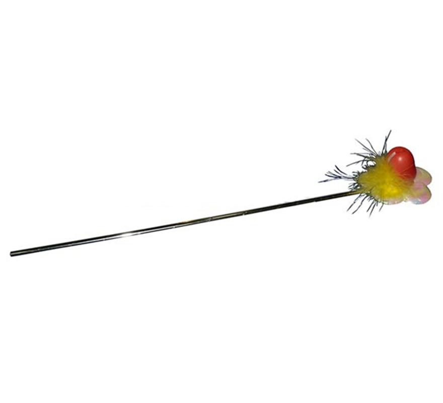 Varita flor con pene. Perfecto para Despedidas de Soltero o Soltera.