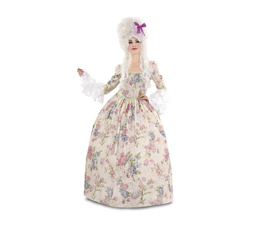 Disfraz de Gran Duquesa para mujer. Talla standar M-L = 38/42. Incluye vestido y cancán. Peluca NO incluida, podrás encontrar pelucas en la sección de Complementos. Ideal para disfrazarse de Época.