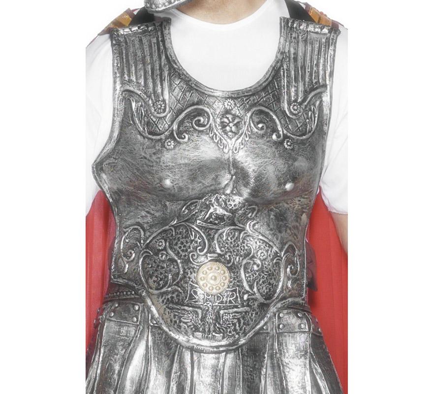 Peto Armadura Centurión Romano caucho Deluxe.