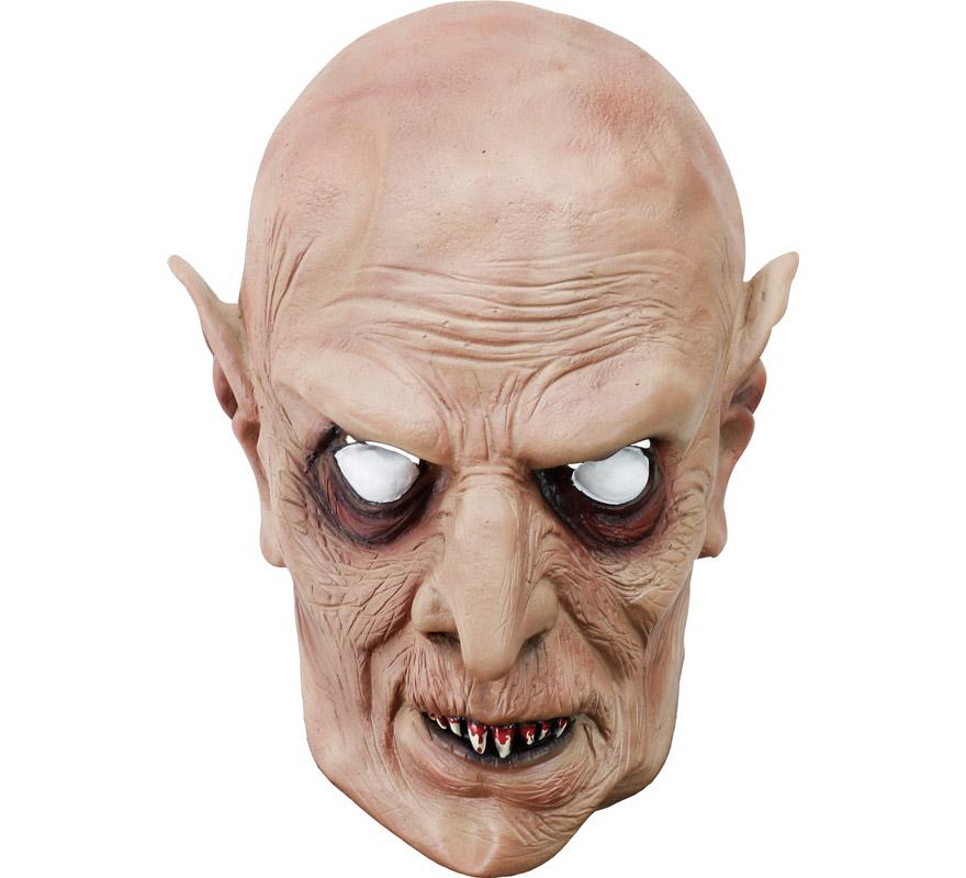 Máscara latex de Vampiro enfadado.