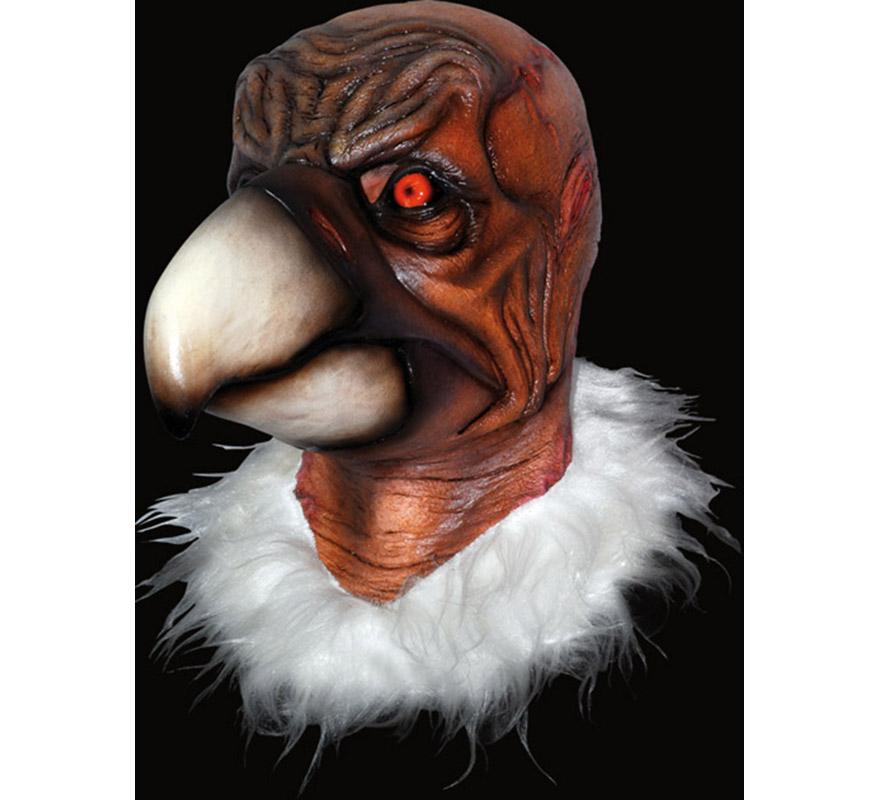 Máscara de Vultureman de látex para Halloween. Alta calidad. Fabricada en látex artesanalmente por una empresa que hace efectos especiales para Hollywood. Máscara de Buitre para dar terror en Halloween.