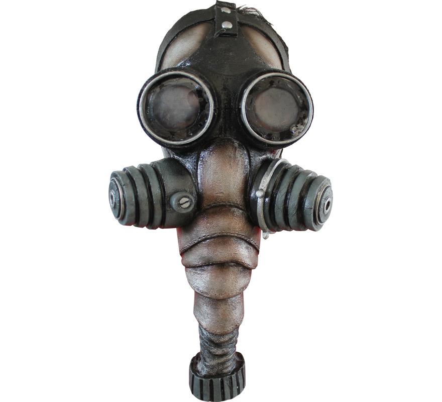 Máscara Gas Mask de látex para Halloween. Alta calidad. Fabricada en látex artesanalmente por una empresa que hace efectos especiales para Hollywood.