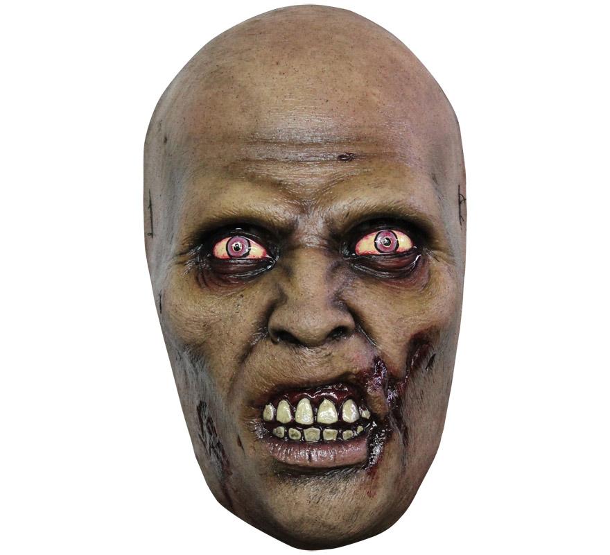 Máscara Walker de látex para Halloween. Alta calidad. Fabricada en látex artesanalmente por una empresa que hace efectos especiales para Hollywood.