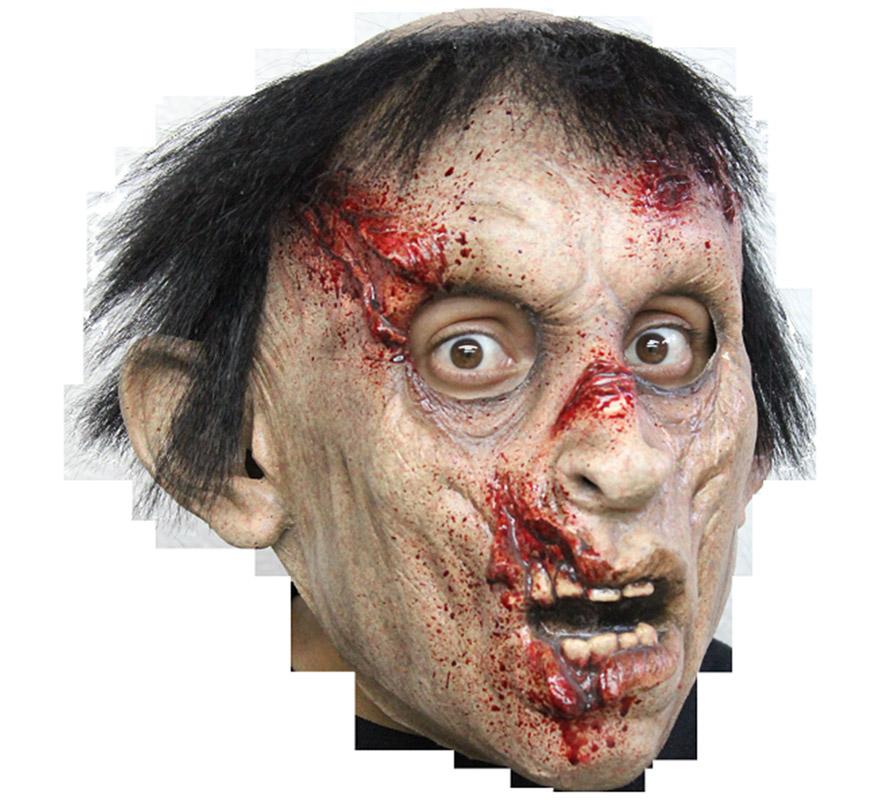 Máscara Brother John de látex para Halloween. Alta calidad. Fabricada en látex artesanalmente por una empresa que hace efectos especiales para Hollywood. Máscara del Zombie Hermano John  para dar terror en Halloween.