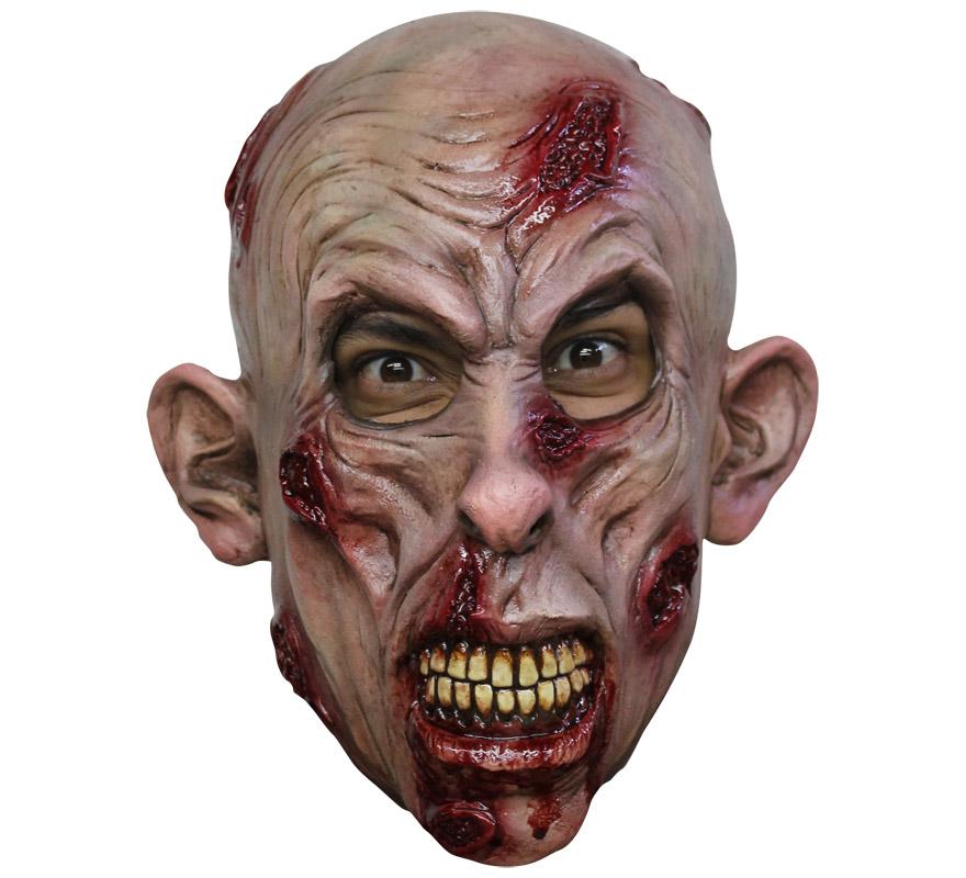Máscara Zombie de látex para Halloween. Alta calidad. Fabricada en látex artesanalmente por una empresa que hace efectos especiales para Hollywood.
