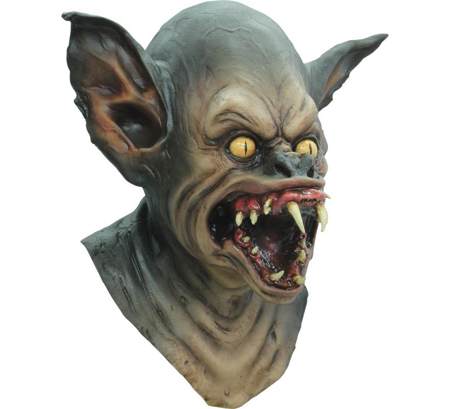 Máscara Bat Creature Criatura Murciélago Vampiro para Halloween. Alta calidad. Fabricada en látex artesanalmente por una empresa que hace efectos especiales para Hollywood.