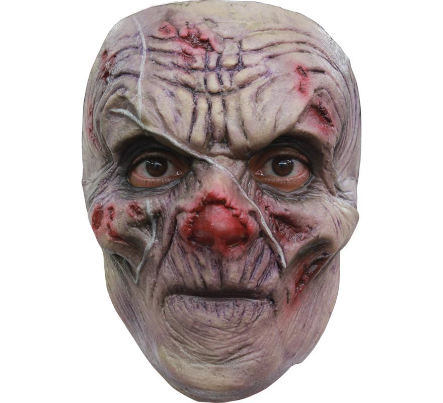 Máscara Scrawny Ghoul Zombie cicatriz para Halloween. Un Ghoul o Gul es un  Fantasma o Demonio necrófago que se alimenta de cadáveres humanos. Alta calidad. Fabricada en látex artesanalmente por una empresa que hace efectos especiales para Hollywood.