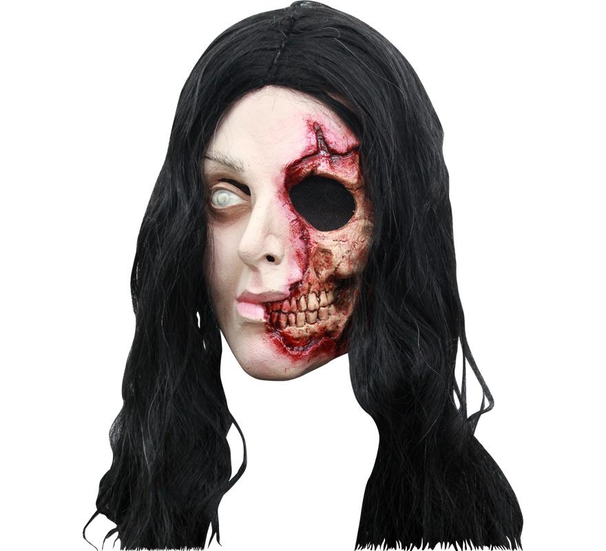 Máscara Pretty Woman Zombie para Halloween. Alta calidad. Fabricada en látex artesanalmente por una empresa que hace efectos especiales para Hollywood.