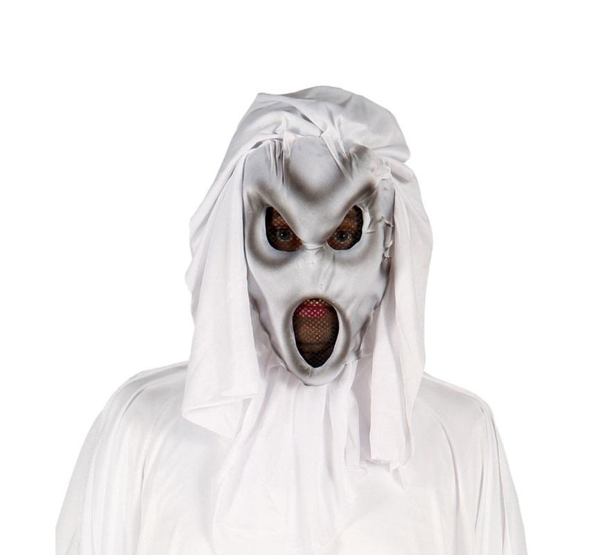 Careta o Máscara de Fantasma de la Oscuridad para Halloween. Perfecta para nuestros disfraces de Fantasma de Halloween.