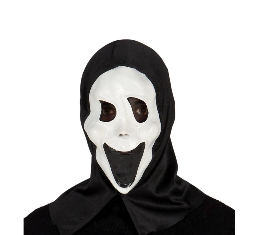 Máscara o Careta de Calavera grande para Halloween. Careta cabeza de esqueleto de Halloween.