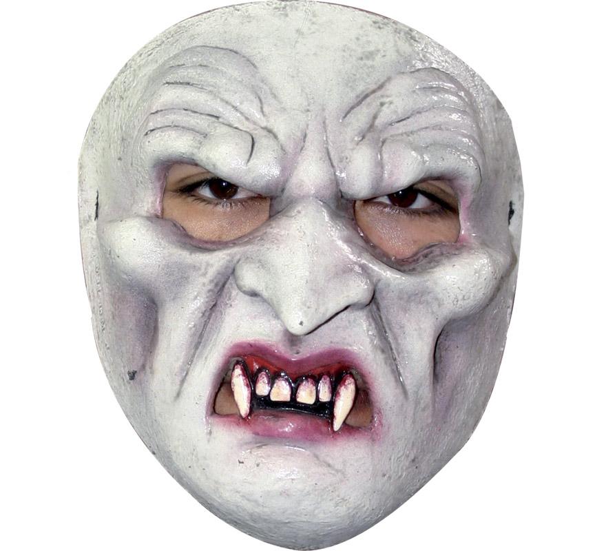 Máscara de Cara de Vampiro para Halloween. Careta de Nosferatu. Alta calidad. Fabricada en látex artesanalmente por una empresa que hace efectos especiales para Hollywood.