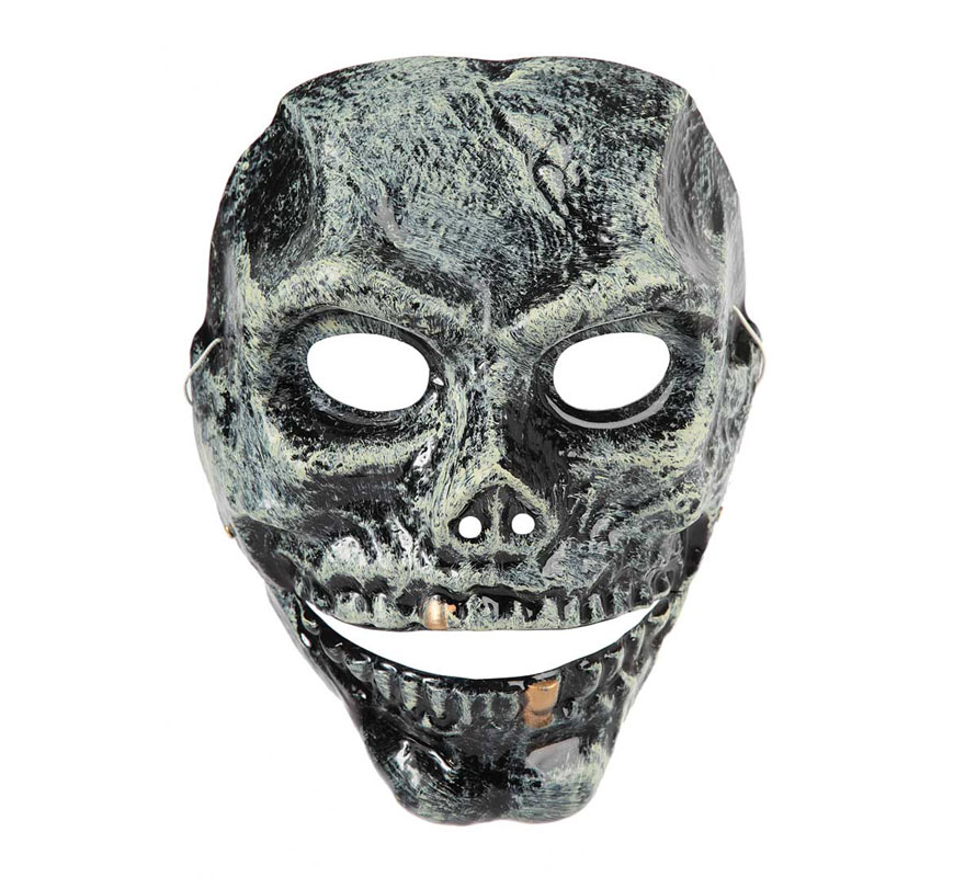 Careta de Esqueleto de plástico articulada para Halloween.