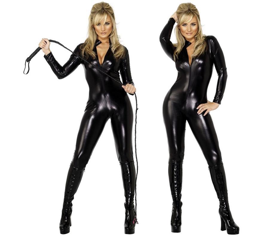 Mono negro serie Fever para mujer talla M.