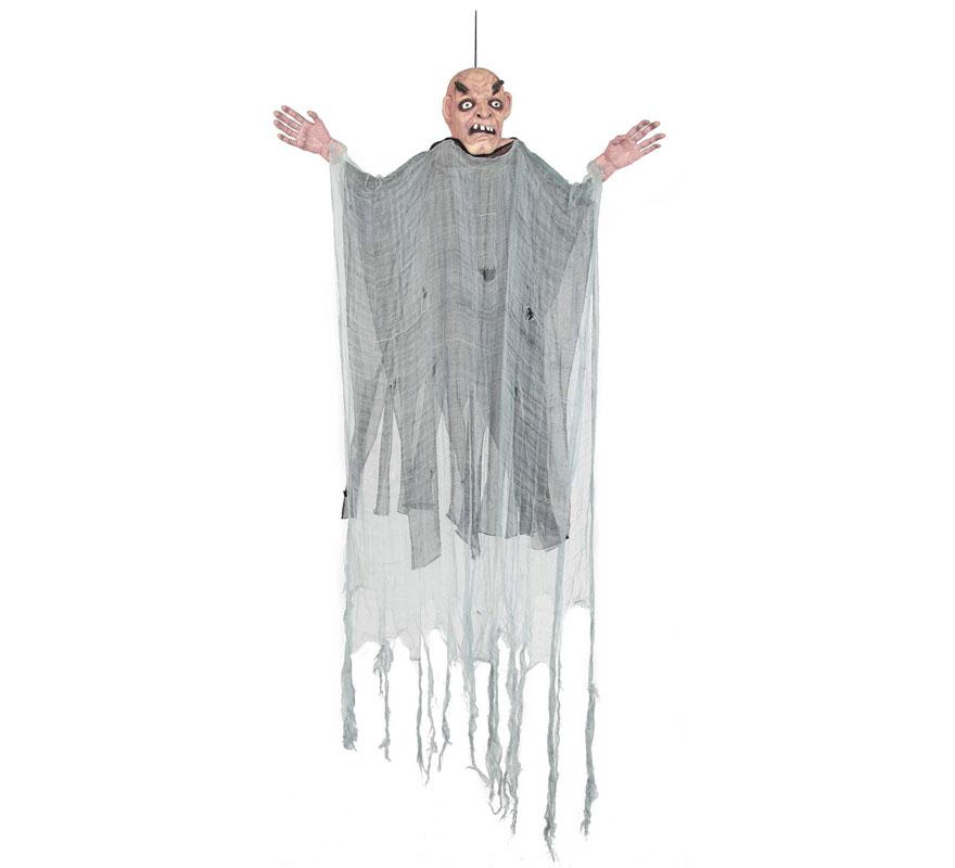 Colgante Abuelo o Viejo para decoración de Halloween de 150x90 cm.