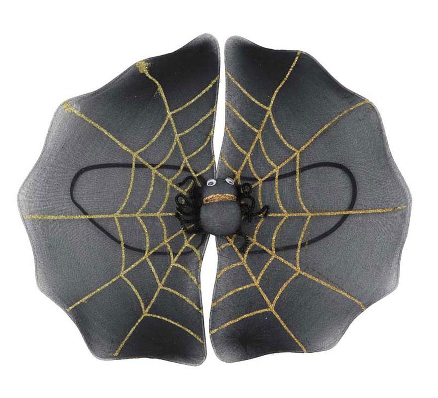 Alas de telaraña para Halloween de 40x40cm.