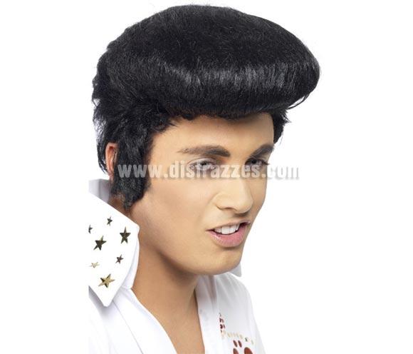 Peluca de Elvis o de Rockero adulto deluxe.