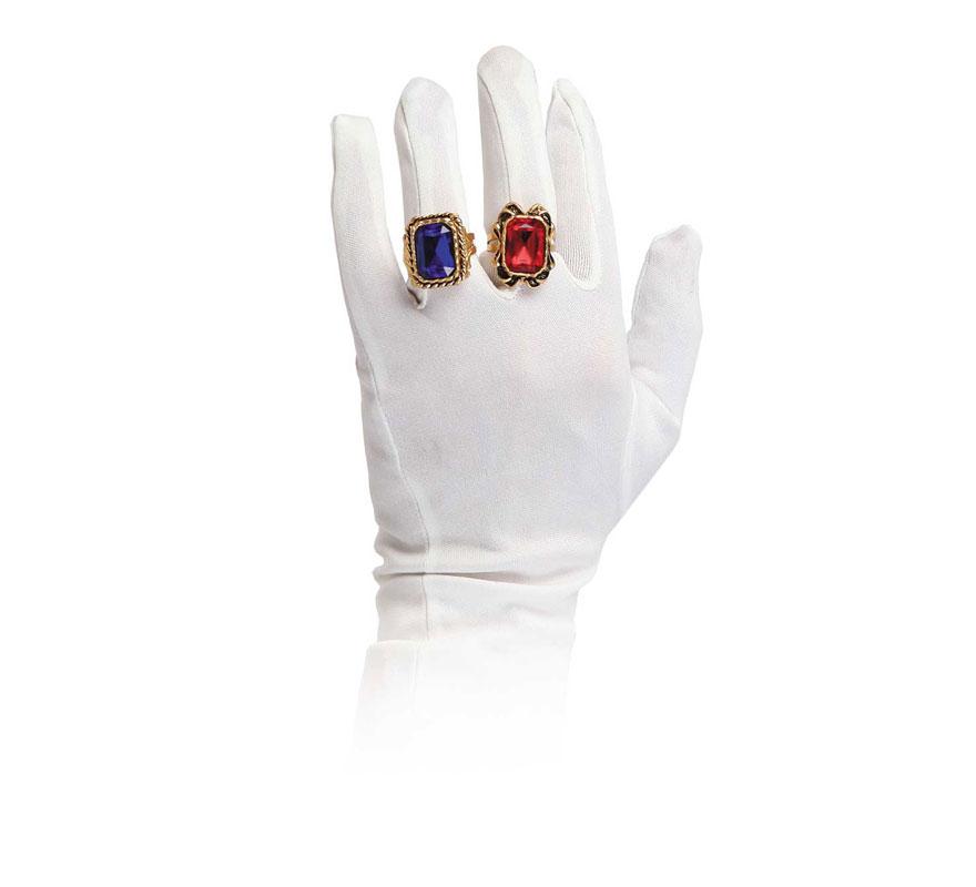 Anillo lujo ideal para Reyes Magos (varios colores). Precio por unidad, se venden por separado.