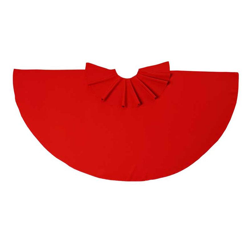 Capote rojo de Torero 75 cm. El complemento ideal para los disfraces de Torero o Torera.