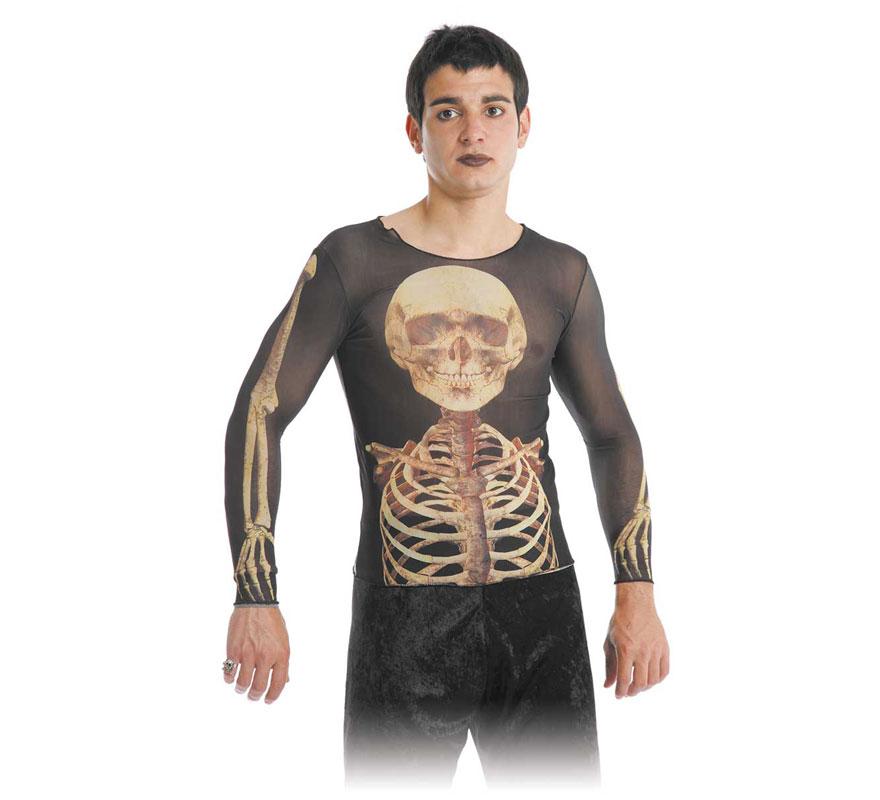 Camiseta Esqueleto Unisex.