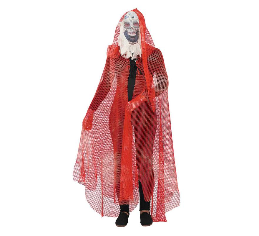 Capa rejilla adulto para Halloween. Talla Universal adultos. El precio sólo incluye la capa. Fabricada en España.