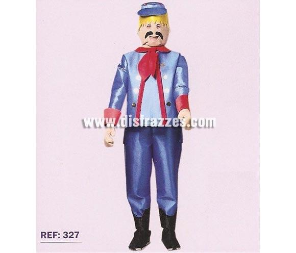 Disfraz barato de Click Muñeco Federal para adultos