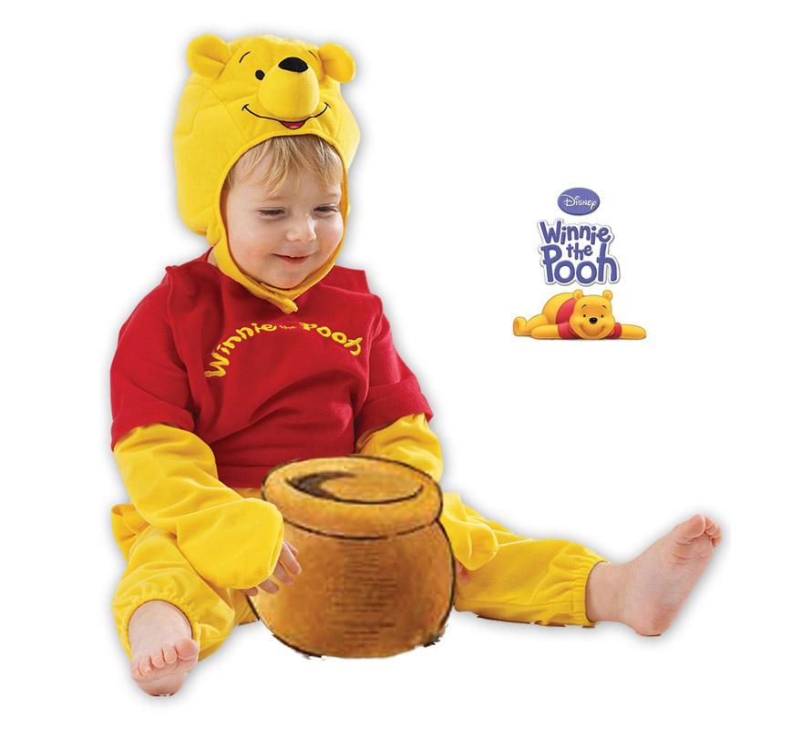 Disfraz de Winnie the Pooh para bebé. Talla de 18 a 24 meses. Incluye capucha y mono. Disfraz con licencia Disney ideal para regalar. Éste disfraz es ideal para Carnaval y para regalar en Navidad, en Reyes Magos, para un Cumpleaños o en cualquier ocasión del año. Con éste disfraz harás un regalo diferente y que seguro que a los peques les encantará y hará que desarrollen su imaginación y que jueguen haciendo valer su fantasía.  ¡¡Compra tu disfraz para Carnaval o para regalar en Navidad o en Reyes Magos en nuestra tienda de disfraces, será divertido!!