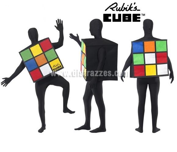Disfraz de Cubo Rubik's para adultos.