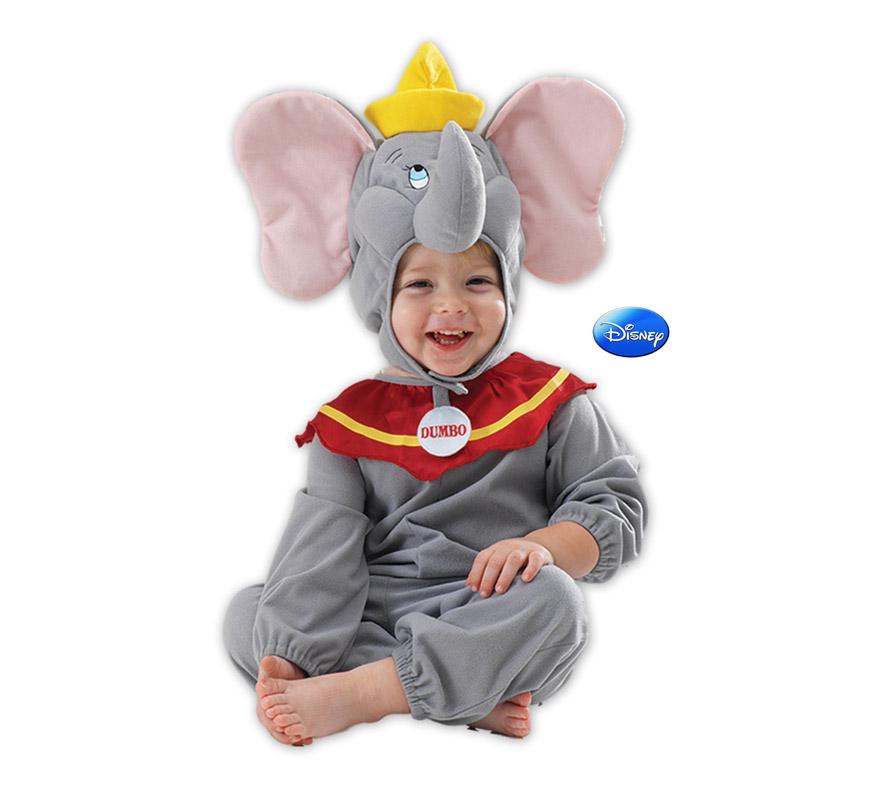 Disfraz de Dumbo para bebé. Talla de 6 a 12 meses. Incluye capucha y mono. Disfraz con licencia Disney ideal para regalar. Éste disfraz es ideal para Carnaval y para regalar en Navidad, en Reyes Magos, para un Cumpleaños o en cualquier ocasión del año. Con éste disfraz harás un regalo diferente y que seguro que a los peques les encantará y hará que desarrollen su imaginación y que jueguen haciendo valer su fantasía.  ¡¡Compra tu disfraz para Carnaval o para regalar en Navidad o en Reyes Magos en nuestra tienda de disfraces, será divertido!!