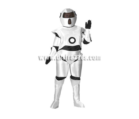 Disfraz de Robot para adultos. Talla de mujer (44) y de hombre (50). Incluye disfraz completo.