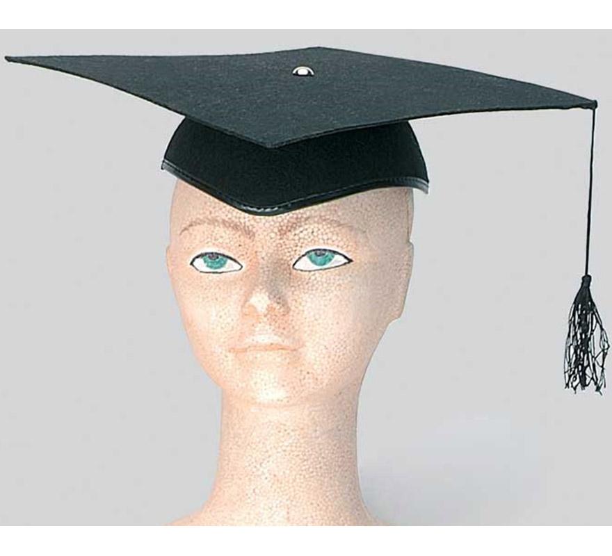 Birrete graduado.