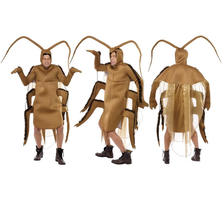 Disfraz de Cucaracha para adultos. Talla Universal. Incluye disfraz de Cucaracha.