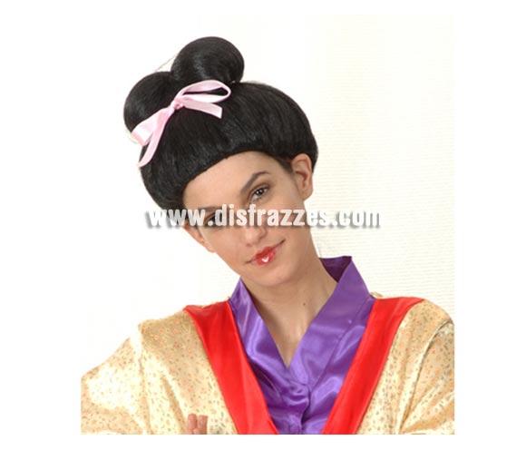 Peluca Geisha.