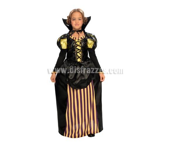Disfraz de Noble niña Medieval barato. Talla de 10 a 12 años. Incluye falda, camisa y collarín. Disfraz de Vampiresa Noble, Disfraz de Cortesana, éste disfraz puede valer de varias formas, como Medieval, de Época, de Halloween......
