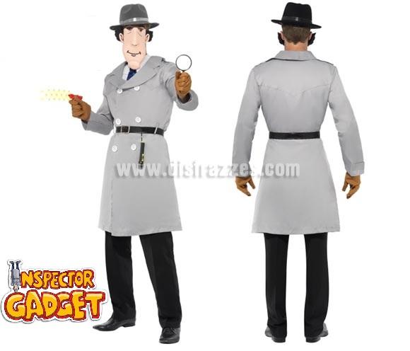 Disfraz del Inspector Gadget para hombre talla M.