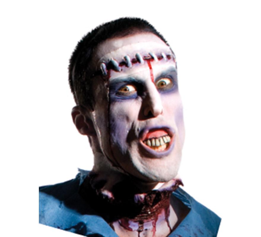 Dientes o Dentadura de Zombie para Halloween.
