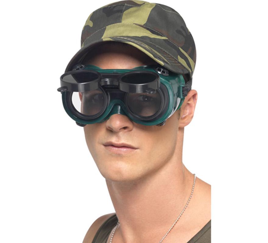Imitación Gafas de Visión Nocturna. Perfectas para los disfraces de Militar, Camuflaje, SWAT, etc.