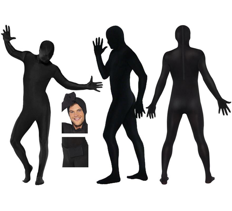 Mono segunda piel de color negro talla XL