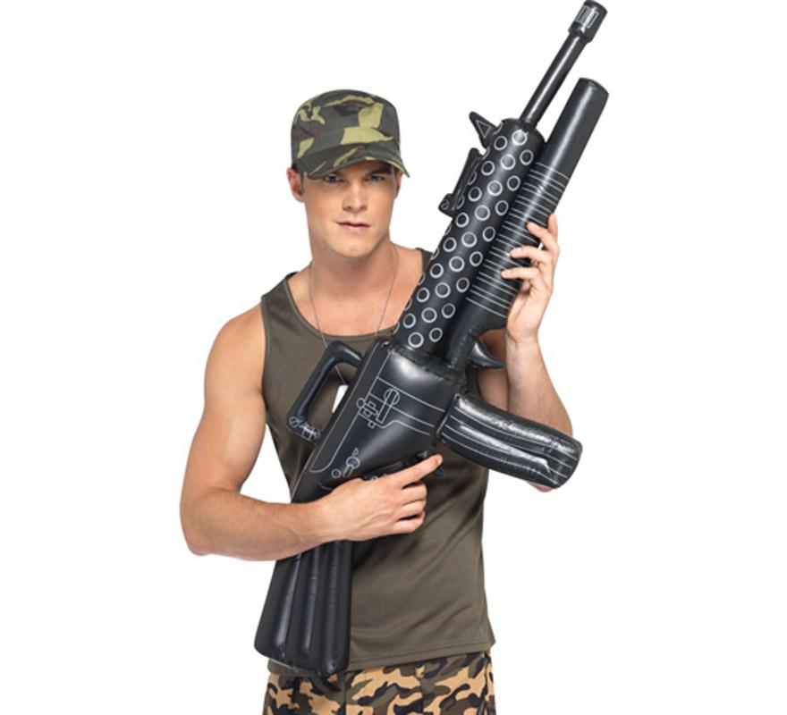 Ametralladora Militar hinchable de 112 cm.