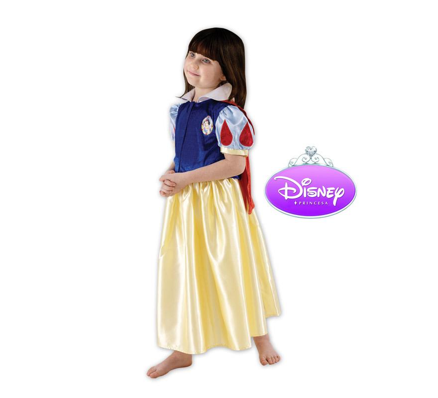 Disfraz de Blancanieves. Talla de 9 a 10 años. Incluye vestido. Disfraz con licencia Disney. Ideal para regalar en Navidad o en cualquier ocasión.