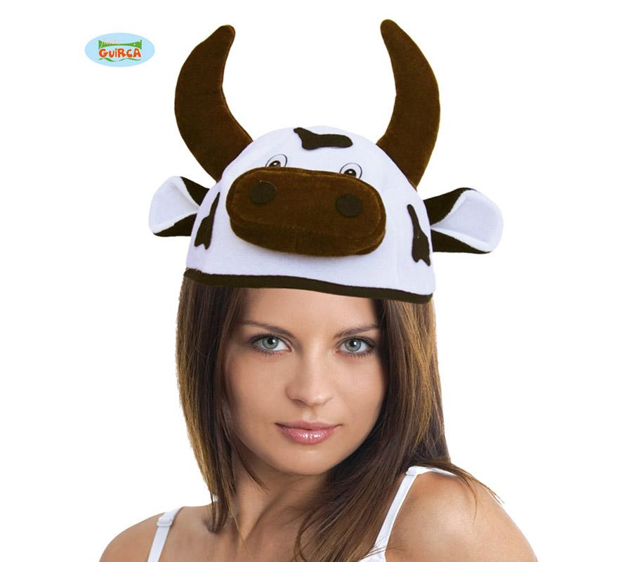 Sombrero o Gorro de Vaca. Ideal para Colegios y para todo tipo de Fiestas y Despedidas.