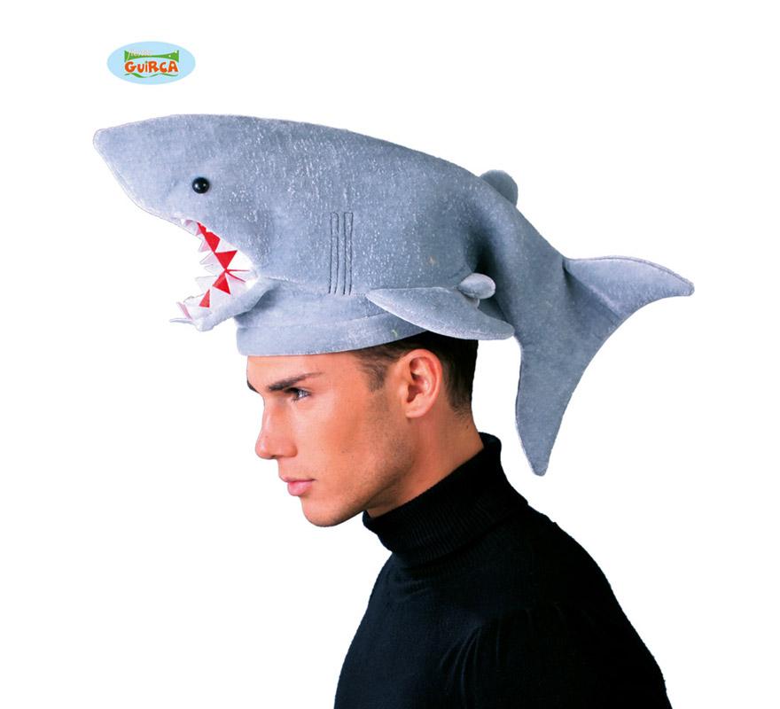 Sombrero o Gorro de Tiburón. Ideal para Colegios y para todo tipo de Fiestas y Despedidas.