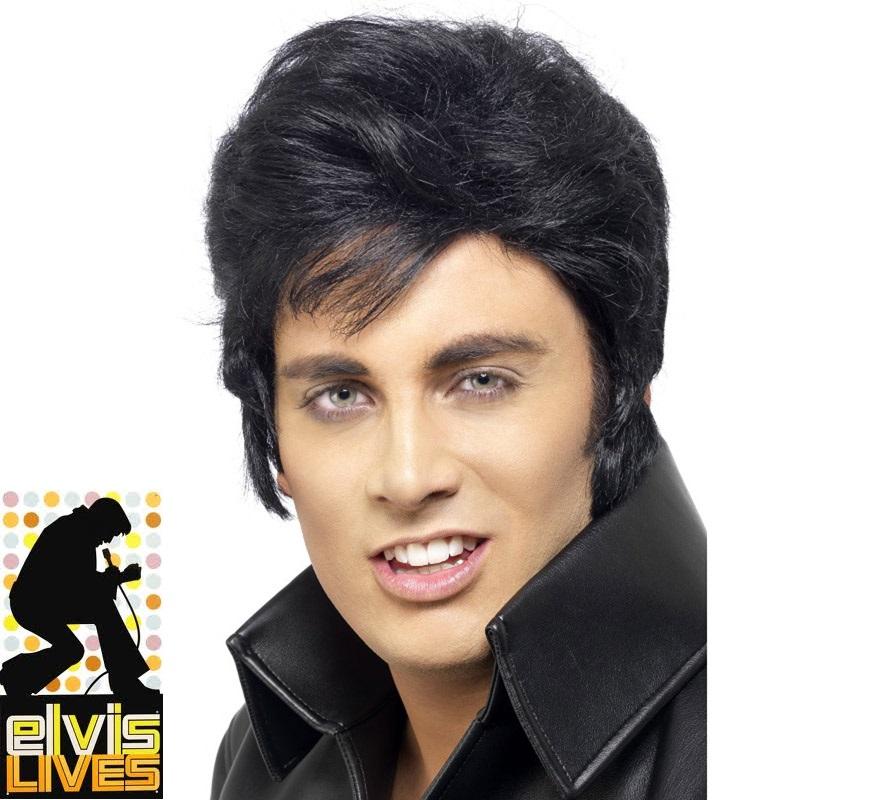 Peluca de Elvis Presley.