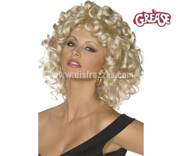 Peluca de Sandy Olson de Grease para mujer. Es el pelo que lleva en la última escena. También podría servir como peluca de Marilyn.