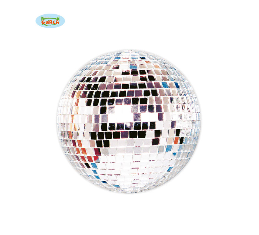 Bola de la Disco de espejo de 18 cm. Ideal para decorar Fiestas.