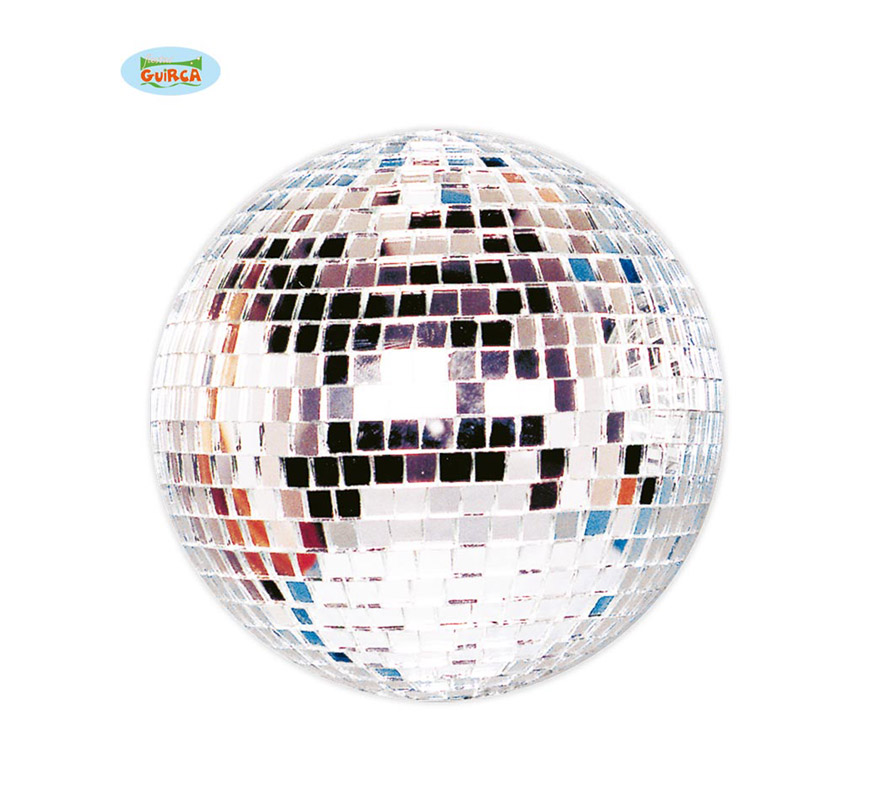 Bola de la Disco de espejo de 25 cm. Ideal para decorar Fiestas.