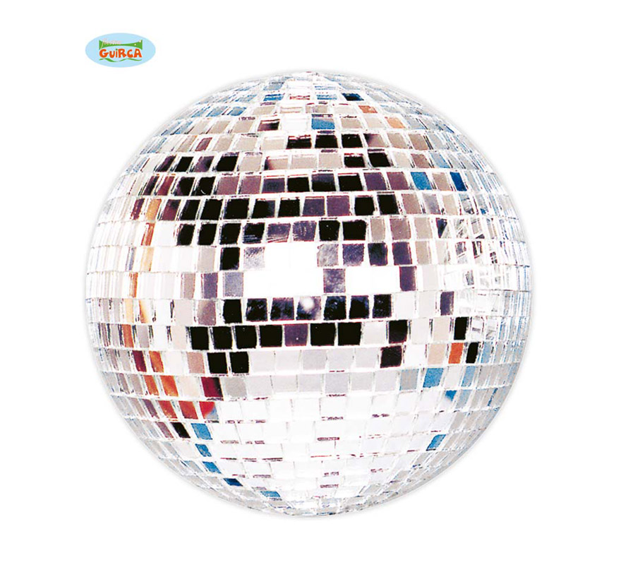 Bola de la Disco de espejo de 30 cm. Ideal para decorar Fiestas.