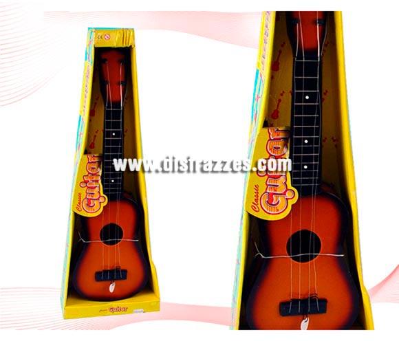 Guitarra Española clásica con púa de 53 cm. Ideal para el disfraz de Tuno.