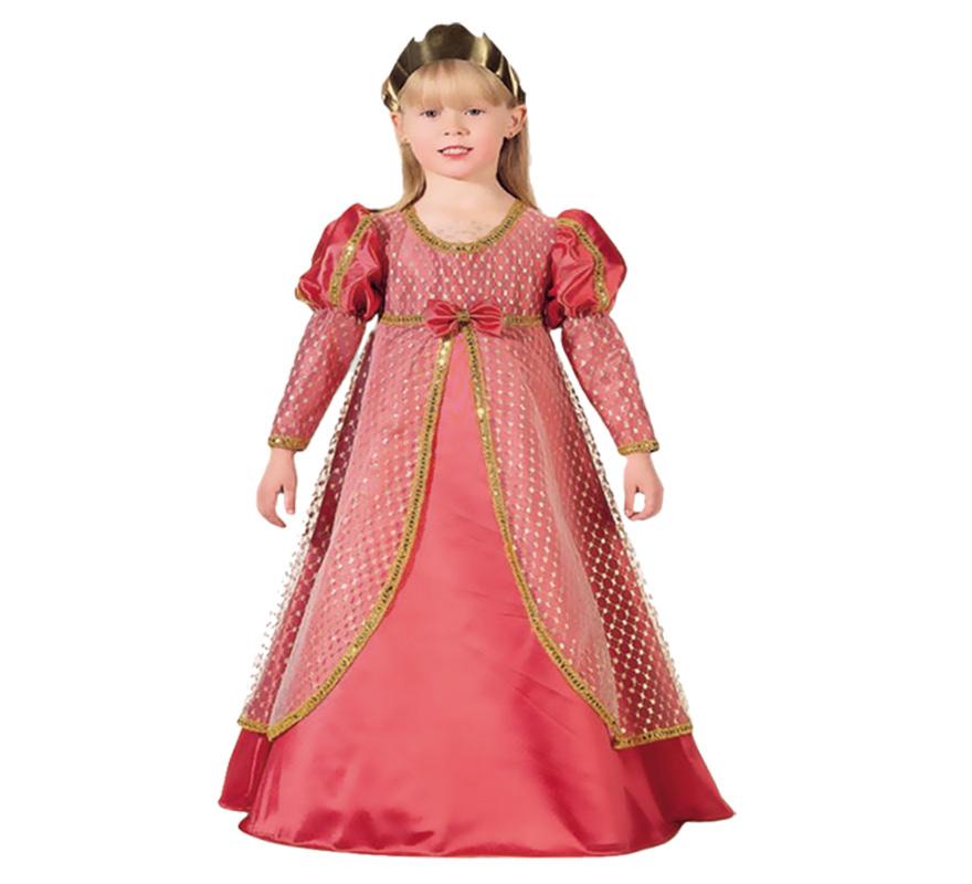 Disfraz barato de Infanta Leonor para niñas (varias tallas)