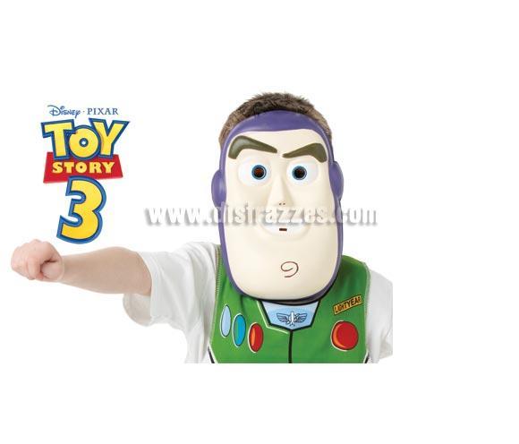 Máscara EVA de Buzz Lightyear de la película Toy Story 3. Ideal como complemento de tu disfraz para Carnaval. ¡¡Compra tu complemento para el disfraz de Carnaval en nuestra tienda de disfraces, será divertido!!