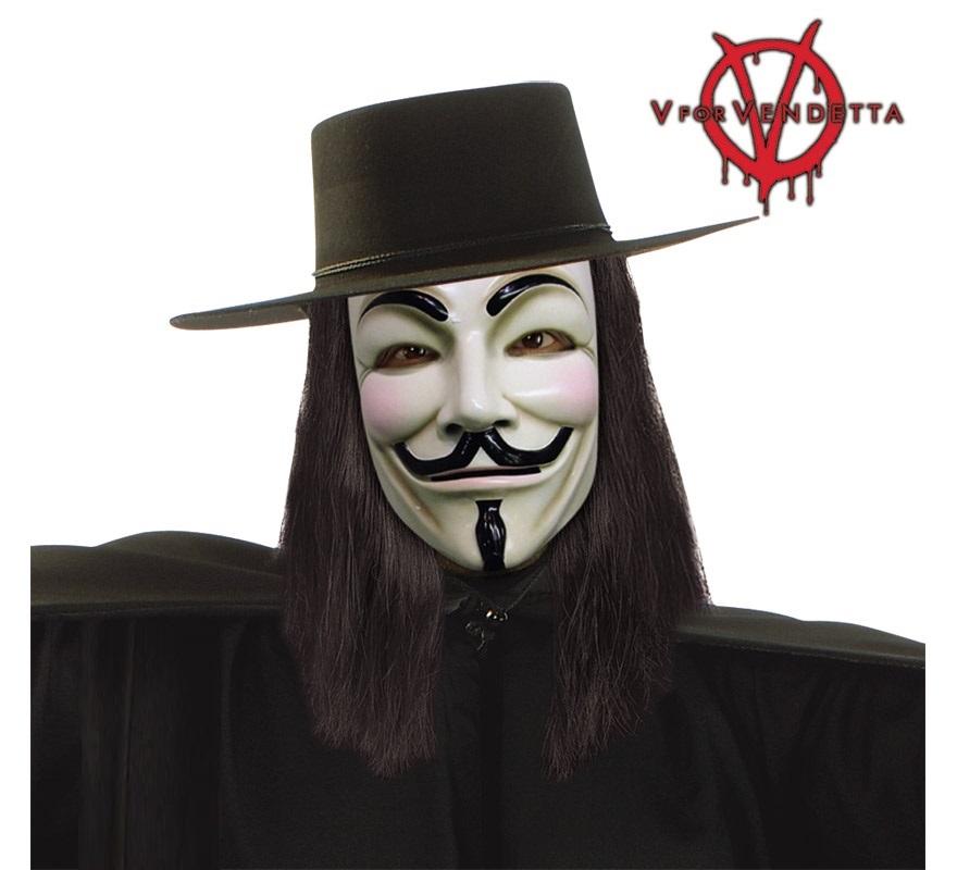 Sombrero V de Vendeta para Halloween.